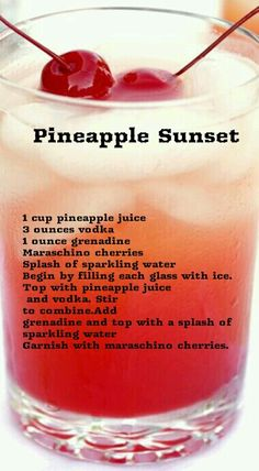 Mixed Drinks Alcohol, Alcohol Drink Recipes, Punch Recipes, Liquor Drinks, Cocktail Drinks, Alcoholic Drinks, Beverages, Summertime Drinks, Summer Drinks