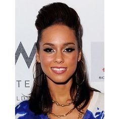 Alicia Keys | Hairstyles for women - Polyvore