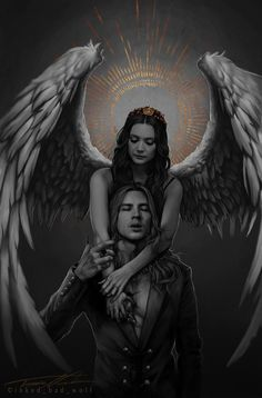 AHS American Horror Story Apocalypse season Billie Lourd as Mallory and Cody Fern as Michael Langdon. AHS American Horror Story Apocalypse season Billie Lourd as Mallory and Cody Fern as Michael Langdon. American Horror Story Coven, Dark Fantasy Art, Fantasy Artwork, Book Quotes Tattoo, Billie Lourd, Evan Peters, Wow Art, Angels And Demons, Bad Wolf