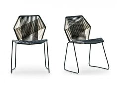 Tropicalia outdoor chairs by Patricia Urquiola for Moroso