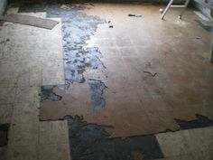 Practical Advice to Stay Safe and Healthy - Beware-Asbestos. Down The River, Vinyl Tiles, Cement, Flooring, Paving Slabs, Wood Flooring, Floor, Concrete