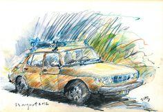 1978 Saab 99GL five door wagonback