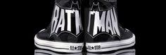 Batman converse shoes