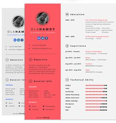 Creative Resume Templates Free 25 Creative And Beautiful Resume & Cv Examples  Cv Examples