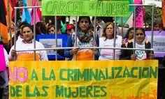Demonstration against Belén's imprisonment, May 2016