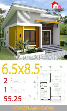 Small House Design With 2 Bedrooms - House Plans Design layout Small House Design With 2 Bedrooms - House Plans