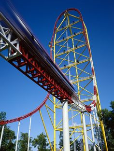 Top Thrill Dragster - Cedar Point.  Oh. My. God.  Crazy ass ride this one.  So awesome.