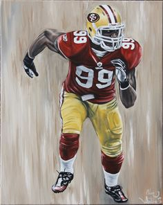 Items similar to San Francisco Aldon Smith Acrylic painting on Stretched Framed Canvas on Etsy Art, Art For Sale, Print, Painting