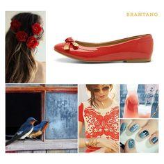 #PV2013 Deslumbra con nuestras #Balerinas Coral #Charol y combínalas con toques en dorado y azul grisáceo: http://www.brantano.com.mx/producto/911-balerina-coral-charol.aspx #Brantano #flats #inspire #colors #PaletaDeColor #estilo #fashion #moda #primavera #verano #PrimaveraVerano2013