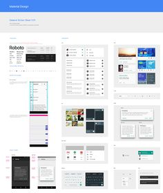 Official Material Design UI components for Photoshop, Illustrator and Sketch from Google