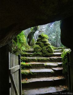 Entrance to the Convent of the Capuchos. Sintra, Portugal.  http://victortravelblog.com/2014/08/26/capuchos-convent-sintra-portugal/