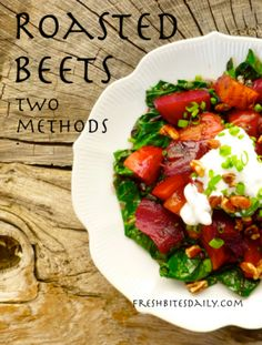 How To Roast Beets: Two Approaches