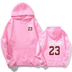aca4c46ec7eee7 2018 Autumn New Mens Women Pink JORDAN 23 Hoodies Fashion Printing Cotton  100% 1