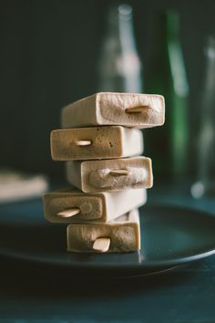 Cashew cream ice pops