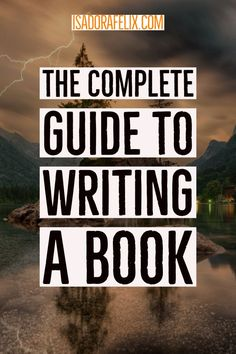 Where to Begin Writing Your Book? The complete guide to writing your book if you're an absolute beginner. Writing Memes, Writing Advice, Writing Resources, Writing Lessons, Writing Ideas, Writing Skills, Essay Writing, Fiction And Nonfiction, Fiction Writing
