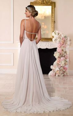 6255 Capri Chiffon Sheath Dress by Stella York