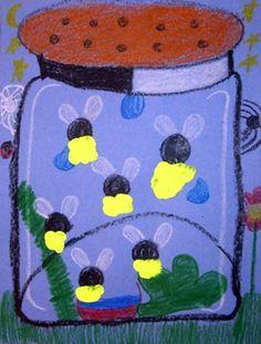 """""""Fireflies in My Jar"""" Grade 1"""