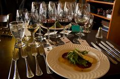 Winemaker's Apres @Whistler Blackcomb. Five-courses with wine pairings = on top of the culinary world!
