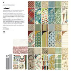BasicGrey - Oxford Collection - 12 x 12 Collection Pack at Scrapbook.com $21.99