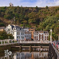 Luarca  #Camino #Santiago #Asturias Paraiso Natural, Villa, Magic, Mansions, World, House Styles, Places, Camino De Santiago, Driveways