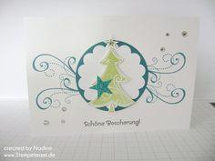 Weihnachtskarte Christmas Card Stampin Up