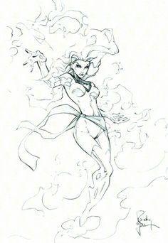 Dark Phoenix con sketch 3 by RandyGreen on DeviantArt Jean Grey Phoenix, Dark Phoenix, X Men, Marvel Comics, Drawing Superheroes, Marvel Girls, Marvel Women, Hero Arts, Adult Coloring Pages