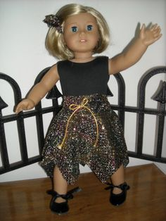 Sparkly dance outfit with tap shoes by DJSisters on Etsy, $20.00