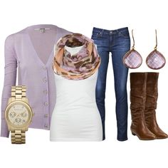 Lilac & Leather