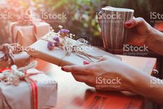 Christmas gifts zbiór zdjęć royalty-free