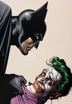Batman and The Joker by Brian Bolland