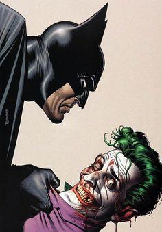 Batman and The Joker by Brian Bolland