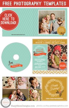 Free Photography Marketing Templates #free #photography #photographer…