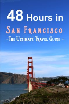 48 hours in San Francisco - What to pack, where to stay, and what to do (including hot spots, resturants for breakfast, lunch, dinner; tourist attractions, places for photo ops, and hidden gems) the ultimate travel guide via thefashiontofollow.com
