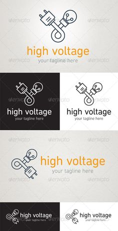 High Voltage #GraphicRiver A modern line logo that would be perfect for a tradesman or electrician. The logo is easy to recolour. Included are CS+ .ai and .eps files. Fonts used: .linotype /517482/DINNextProRoundedLight-product.html .linotype /517485/DINNextProRoundedRegular-product.html Please get in touch if you have any questions. Created: 18August13 GraphicsFilesIncluded: VectorEPS #AIIllustrator Layered: No MinimumAdobeCSVersion: CS Resolution: