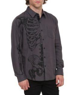 RUDE Skeleton Woven