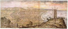 View of Barcelona, 1563.
