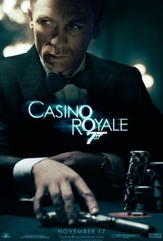 """Casino Royale""; AMC Loews Cherry Hill 24; Cherry Hill, N.J.; Aud 14; Sunday, November 19, 2006; 8:05 p.m.; $9.50"
