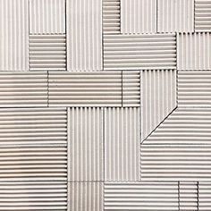 """themotifeye: """"Anchor 100 Series Corrugated Tile by Anchor Ceramics """" Cladding Design, Wall Cladding, Metal Cladding, Facade Design, Wall Patterns, Textures Patterns, Floor Patterns, Corrugated Wall, Facade Pattern"""
