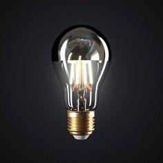 Zrkadlová kolekcia FILAMENT Led Technology, Light Bulb Types, Unique Lighting, Save Energy, Glow, Mirror, Silver, Italia, Money