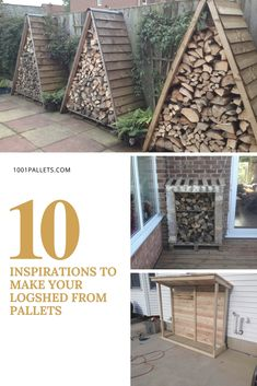Winter is here, instead of buying a ready-made log shed, you may prefer to build it out of pallets. A …
