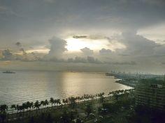 Sunset On Roxas Boulevard, Manila