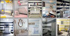 quarto de bebe - Baby room - Stripes decor - decoration - listras - riscas - decoração - dicas - nick na europa