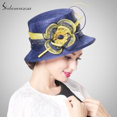 Summer England Style Vintage Sinamay Fascinator Floral Pillbox hat Wholesale Protection Headgear Like and share! #shop #beauty #Woman's fashion #Products #Hat
