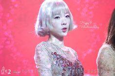 Valentine  Calendar 1602  ❥Taeyeon Wallpaper #taeyeon #snsd #taeyeoncalendar