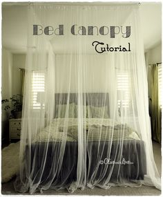 Ceiling Mounted Bed Canopy - I provide you with stunning inspirations for DIY Canopy Beds, nowadays.
