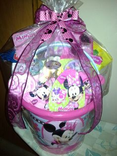 Minnie mouse easter basket bouquet delicatesweetcreations 2014 minnie mouse easter basket jets baskets negle Gallery
