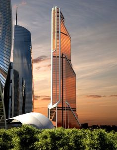 Skyscrapers; Europe's Tallest: Mercury City Tower, Moscow, Russia  © Liedel Investments Limited  Click the picture for more!