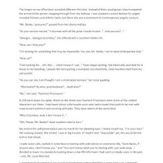 """143139 - """"The Case of the Payment Processors"""", Category: Creative Writing"""