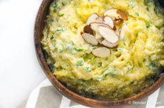 Creamy Ricotta Spaghetti Squash | Slender Kitchen