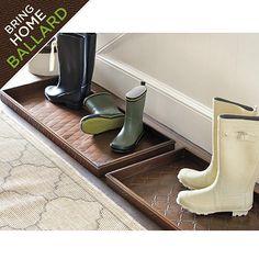 Merveilleux Ballard Boot Tray